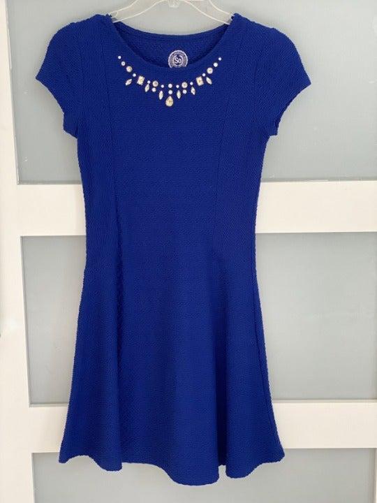 Royal Blue Tween Dress