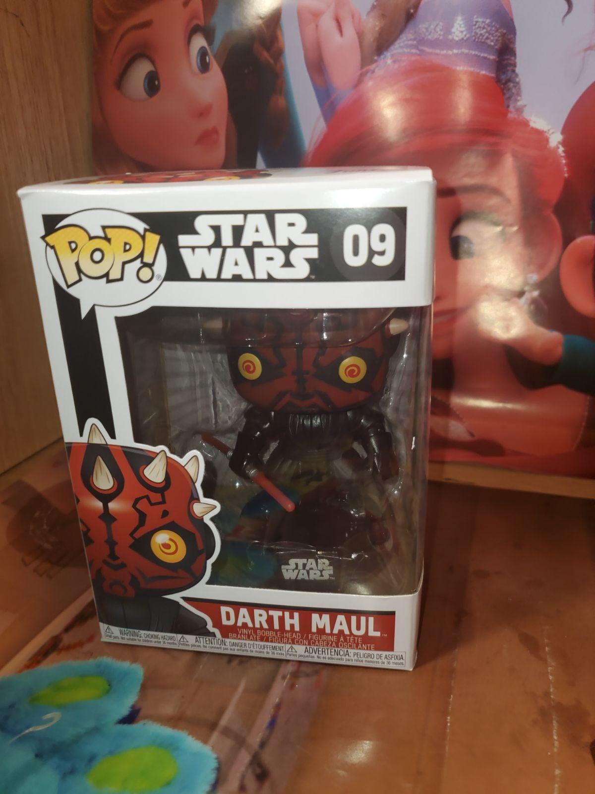 Funko pop Star Wars Darth Maul #9