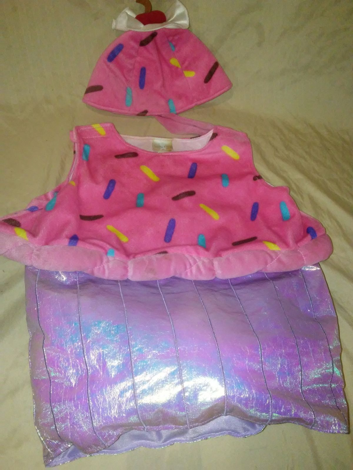 Toddler cup cake costume 24 months