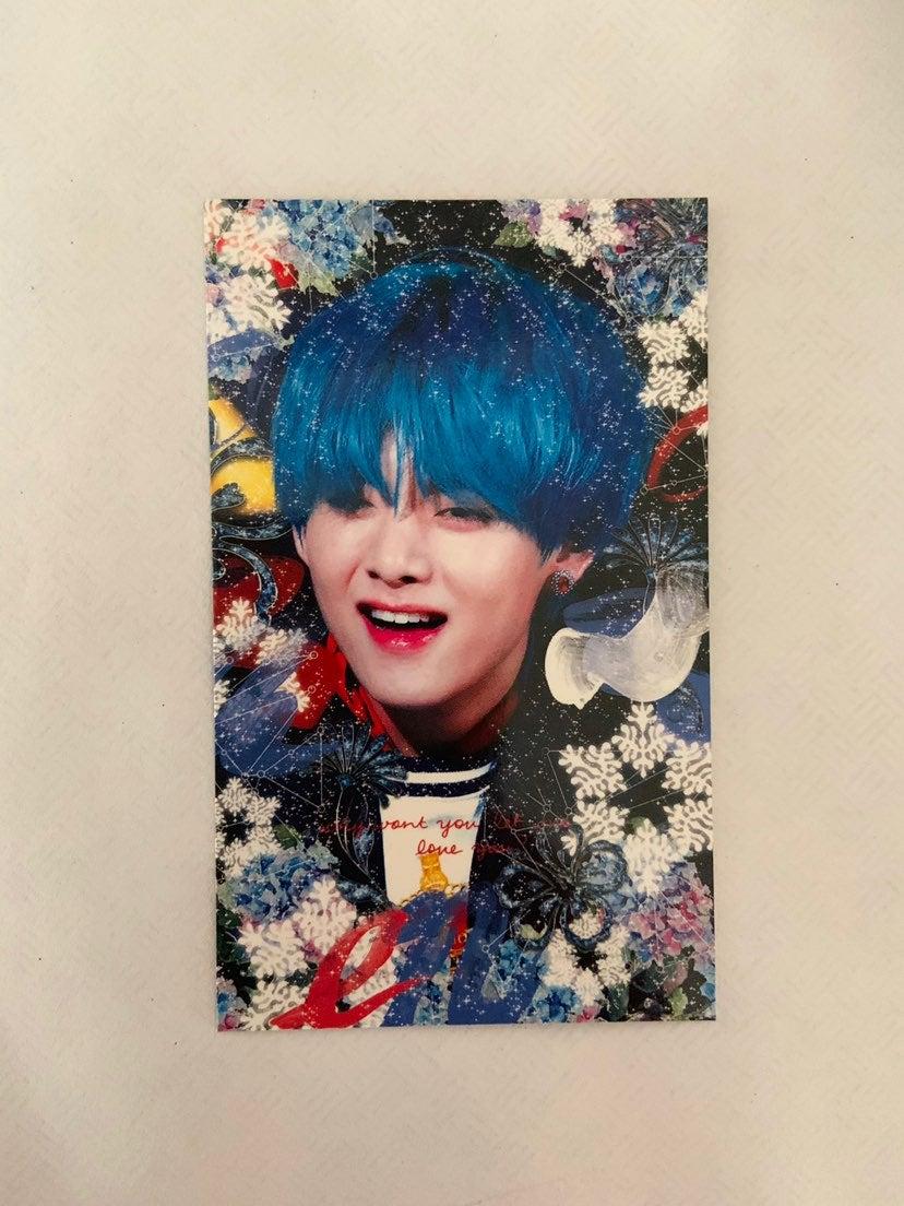 V/Taehyung photocard