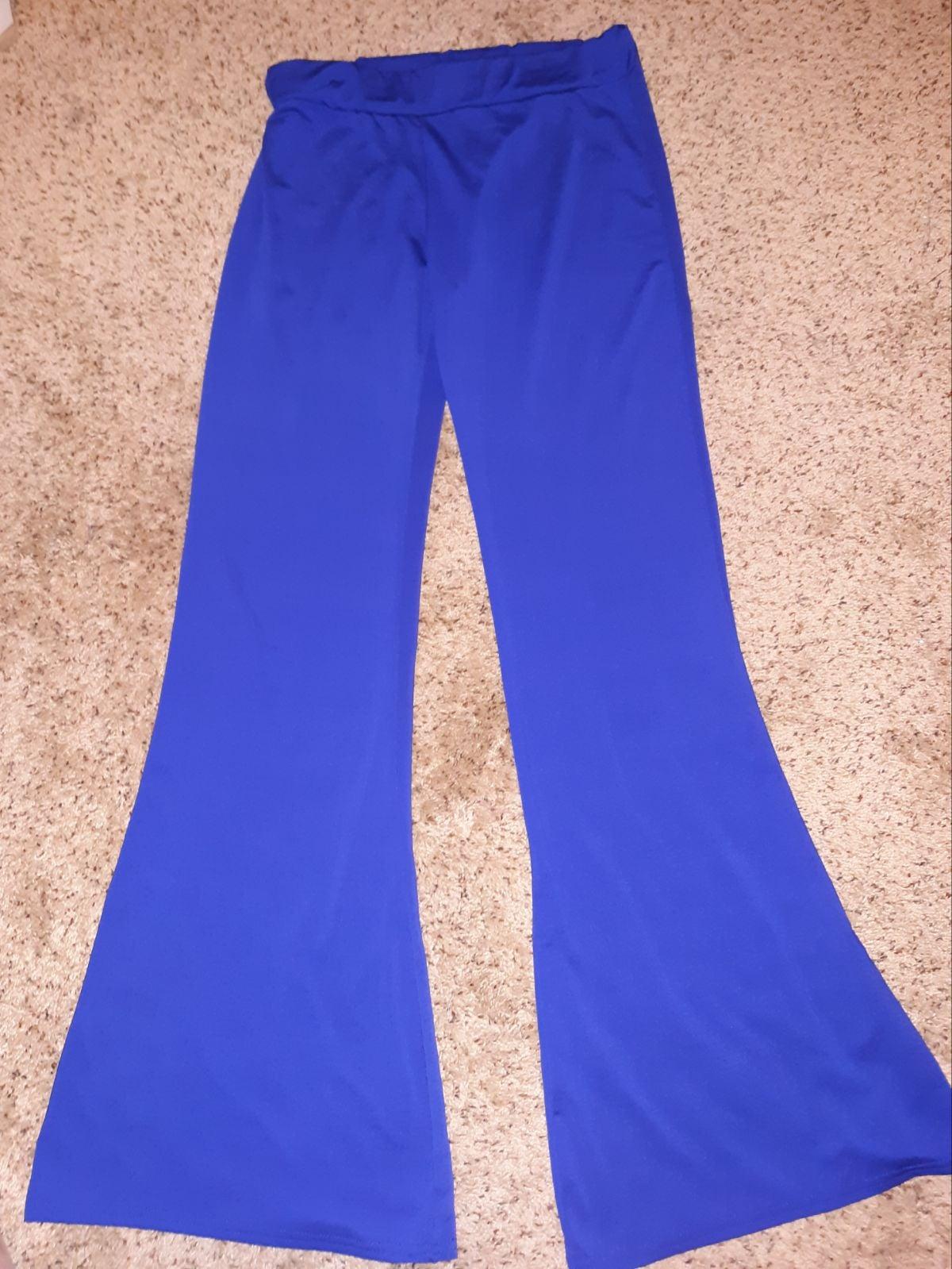 Women's Royal Blue Yoga pants