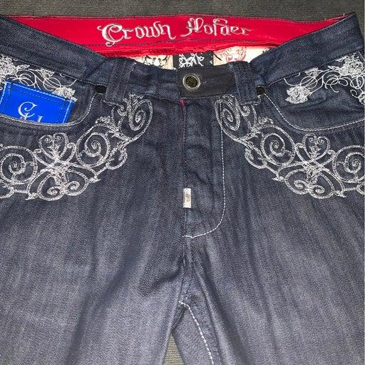 Crown Holder Jeans