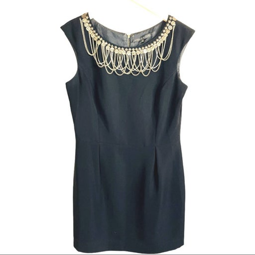 Antonio Melani Dress Metal Beading sz8