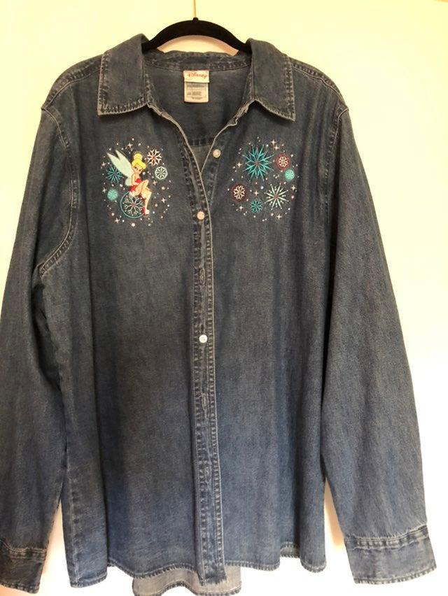 Disney souvenir blouse size XXL