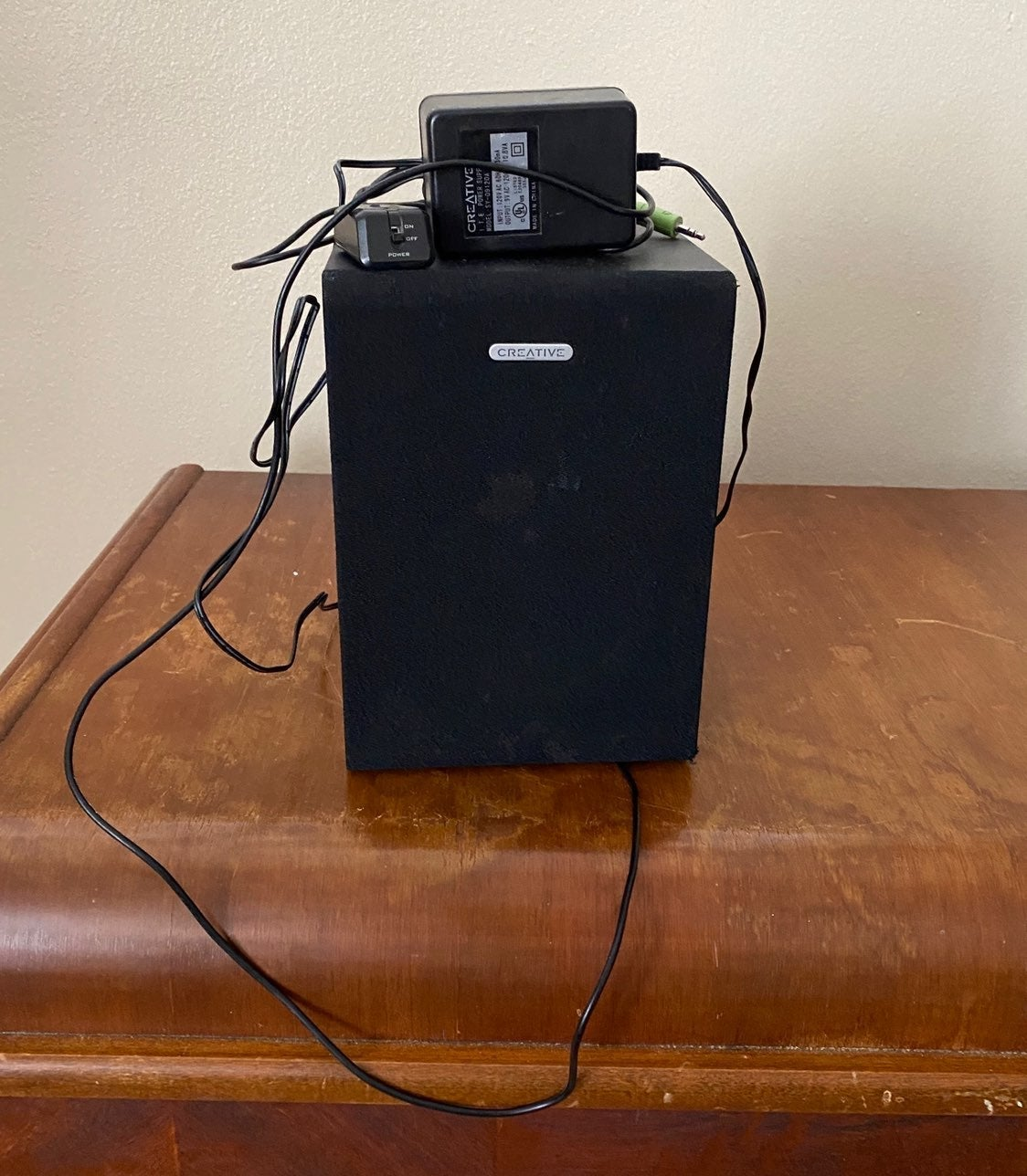 Creative Labs SBS 2.1 330 Subwoofer USED