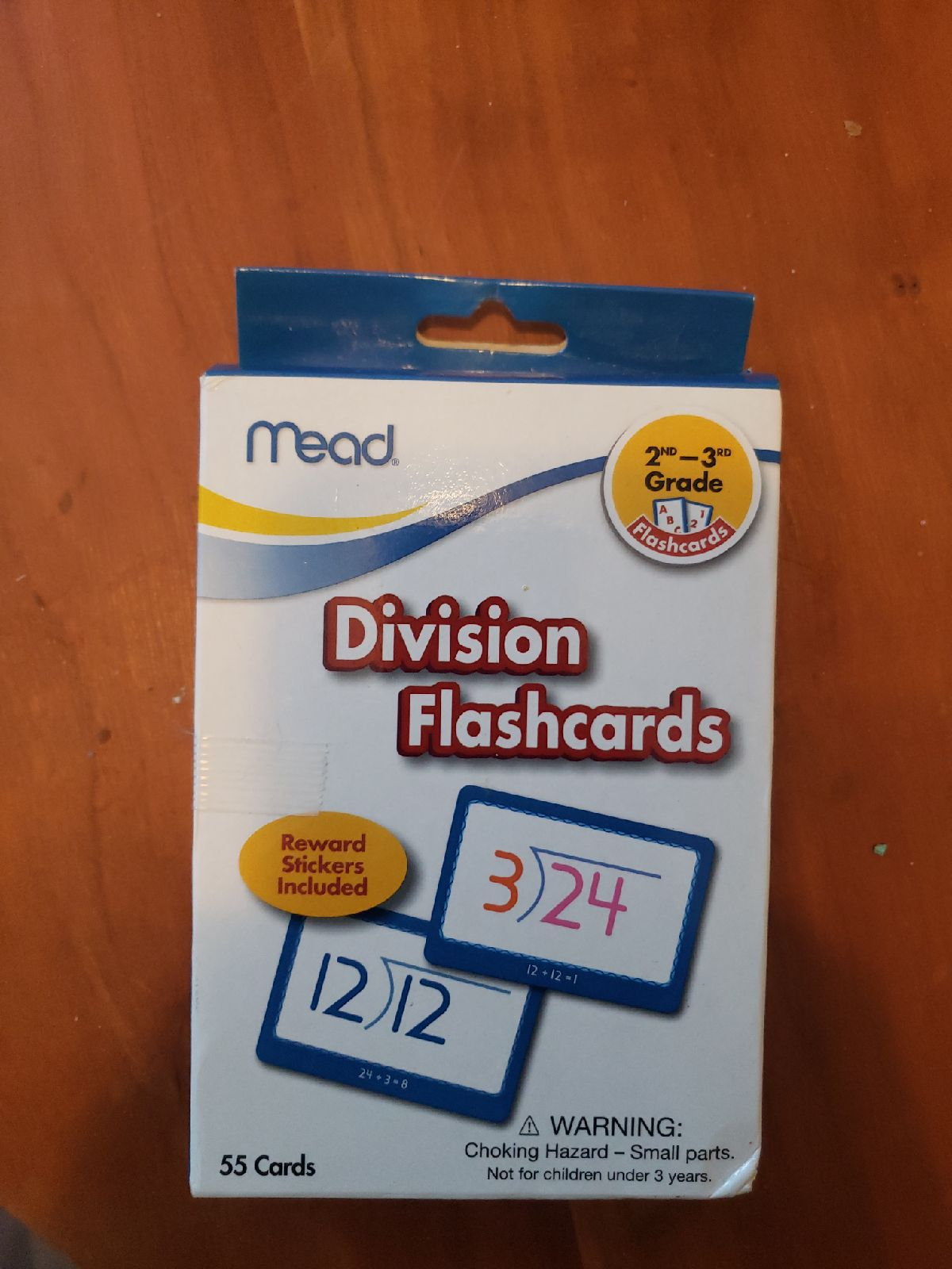 Mead Division Flashcards