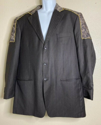 Mantoni Men Size 44L Super Fine Wool ...