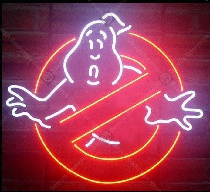 Ghostbusters Handmade Neon Sign