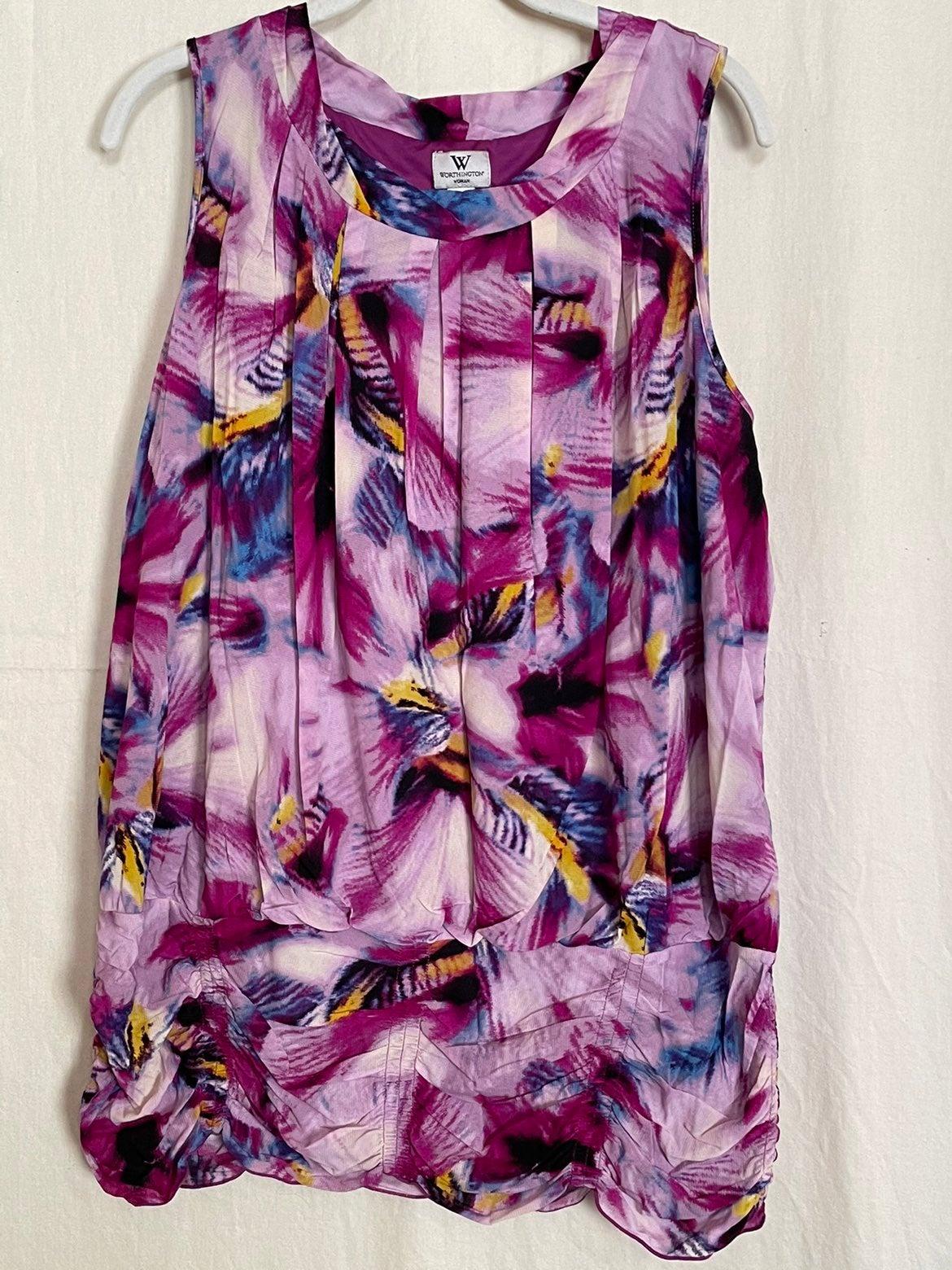 Worthington sleeveless blouse