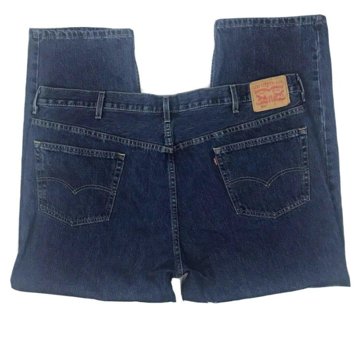 Levis 550 Relaxed Fit Jeans Mens 44 x 29