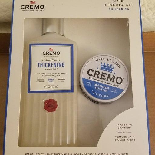 CREMO Thickening shampoo set NEW