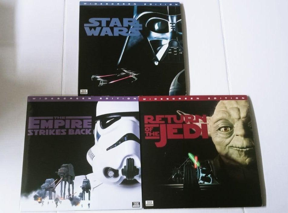 Star Wars Trilogy Laser Disc