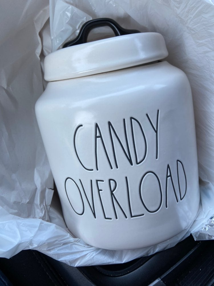 Rae dunn candy overload canister