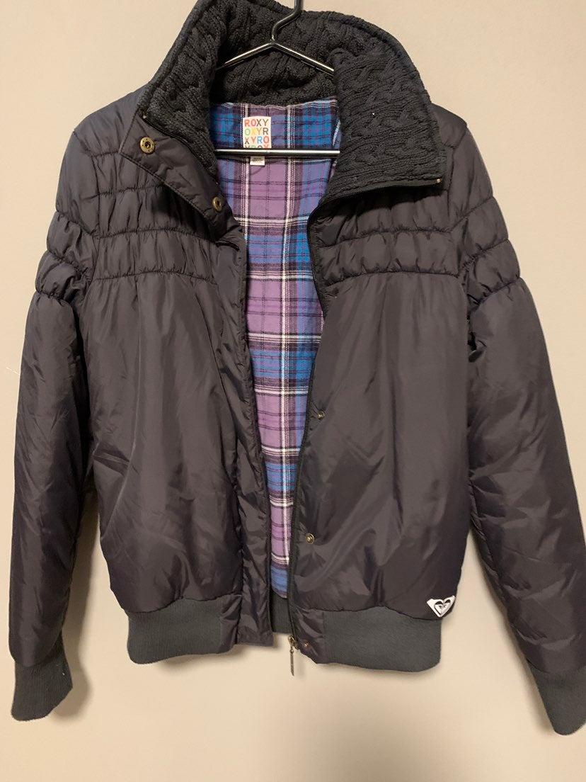 Roxy Black Puffer Jacket size M-L