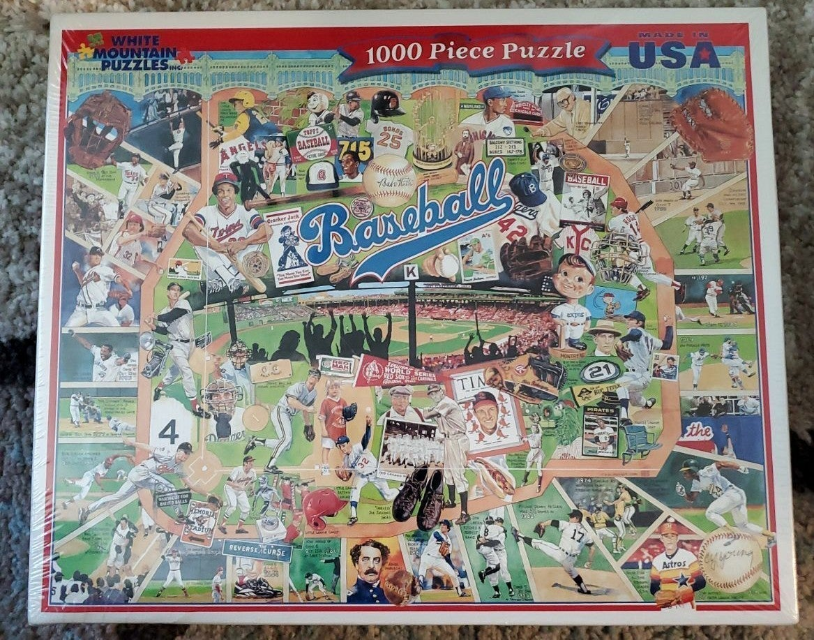 White Mountain Baseball Puzzle Still Sea