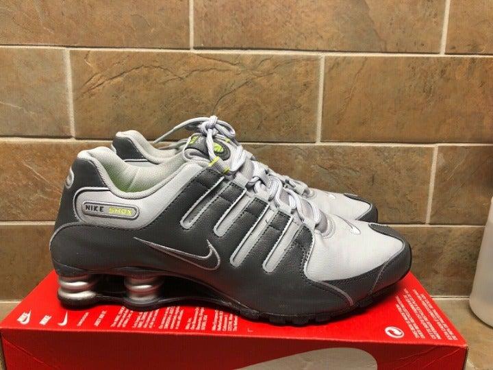 Nike Shox NZ Mens 378341-009 Wolf Grey