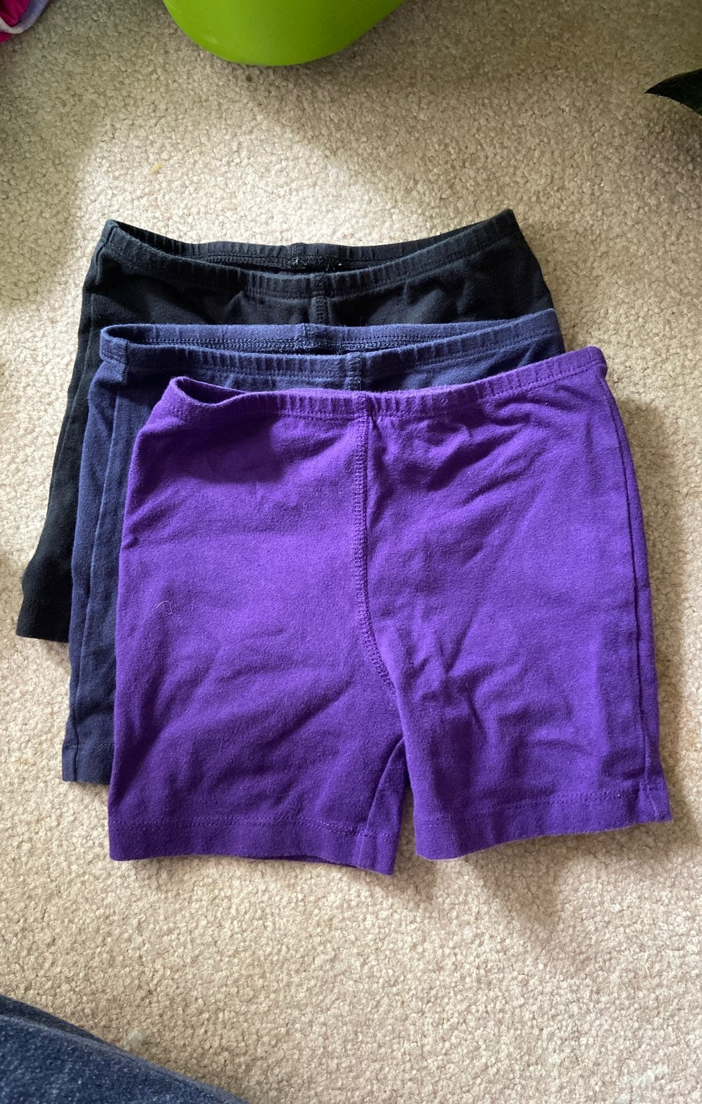 Girls Cartwheel Shorts 3 pairs sz 4-5