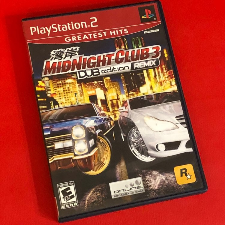 Mid Night Club 3 - Playstation 2 (PS2)