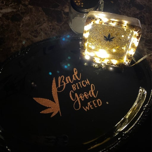 Lightup Ashtray Complete Rolling Set