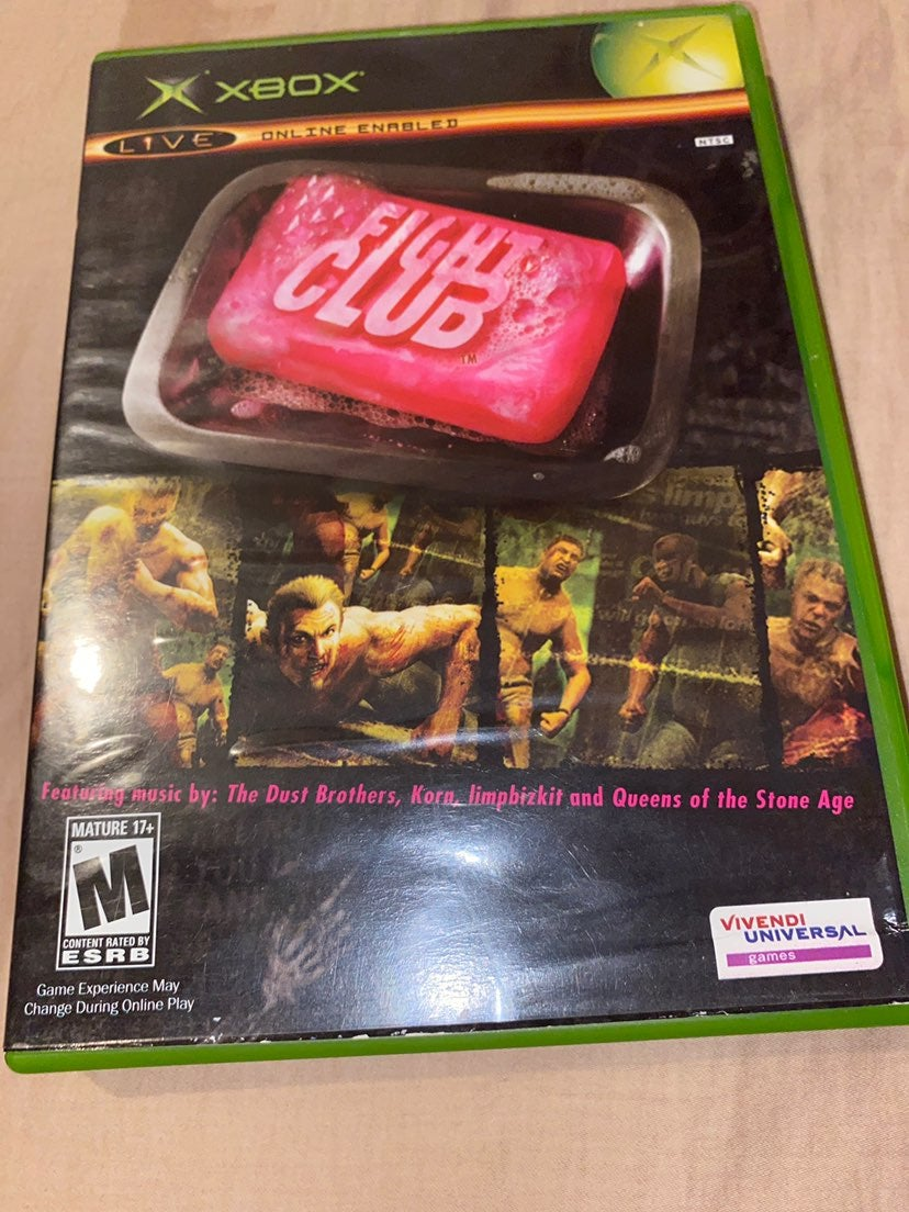 Fight Club Xbox Game