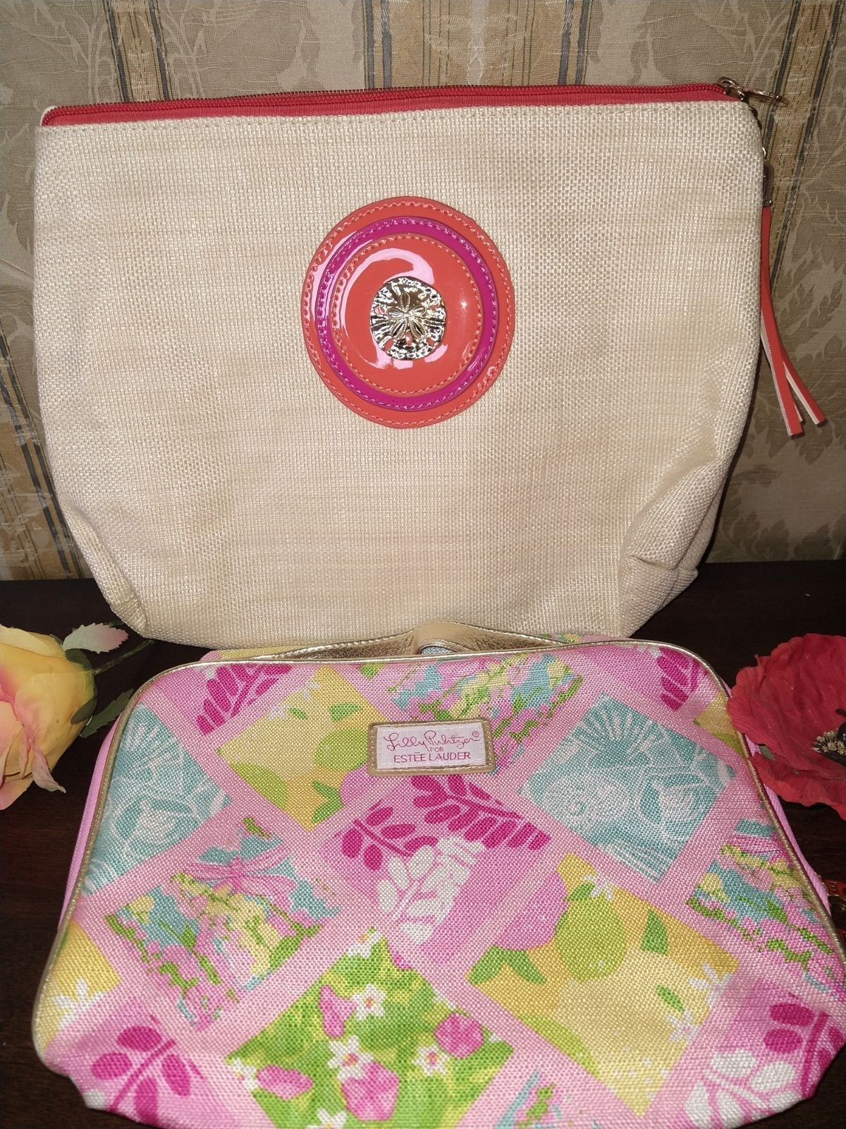 Bundle Of Two Makeup/ Cosmetic Bags