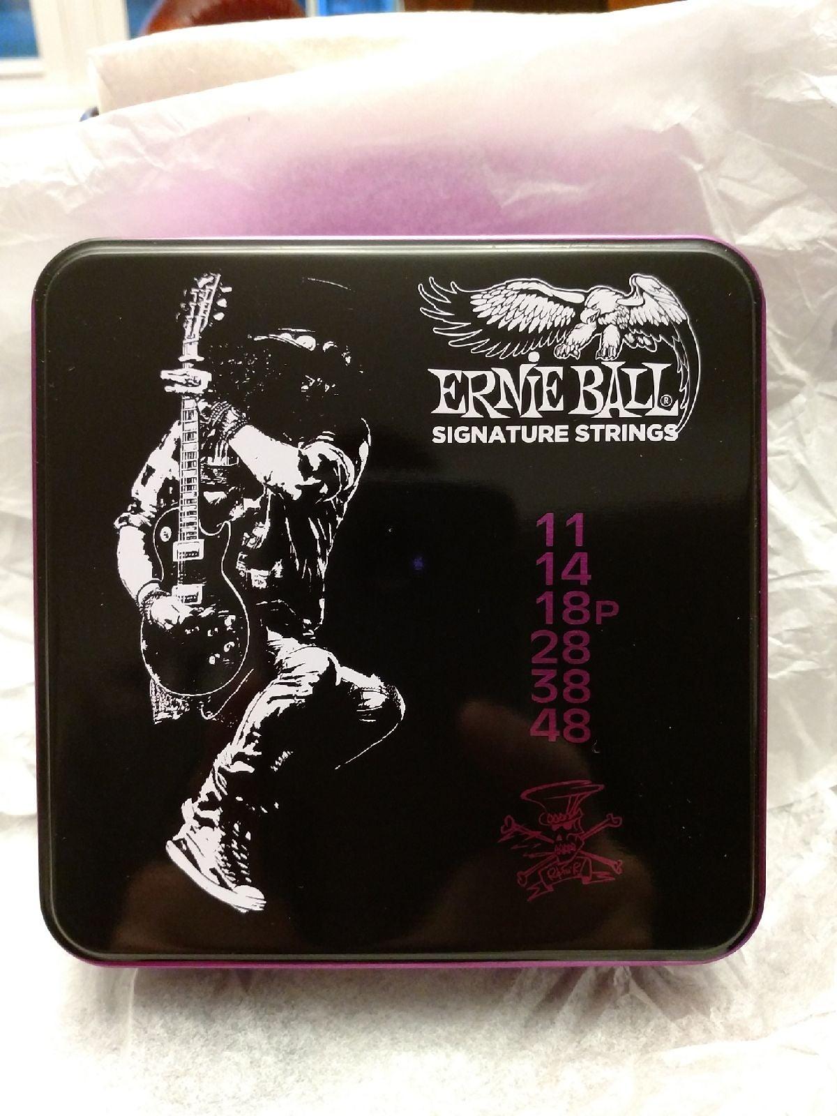 Ernie Ball Signature Strings Slash