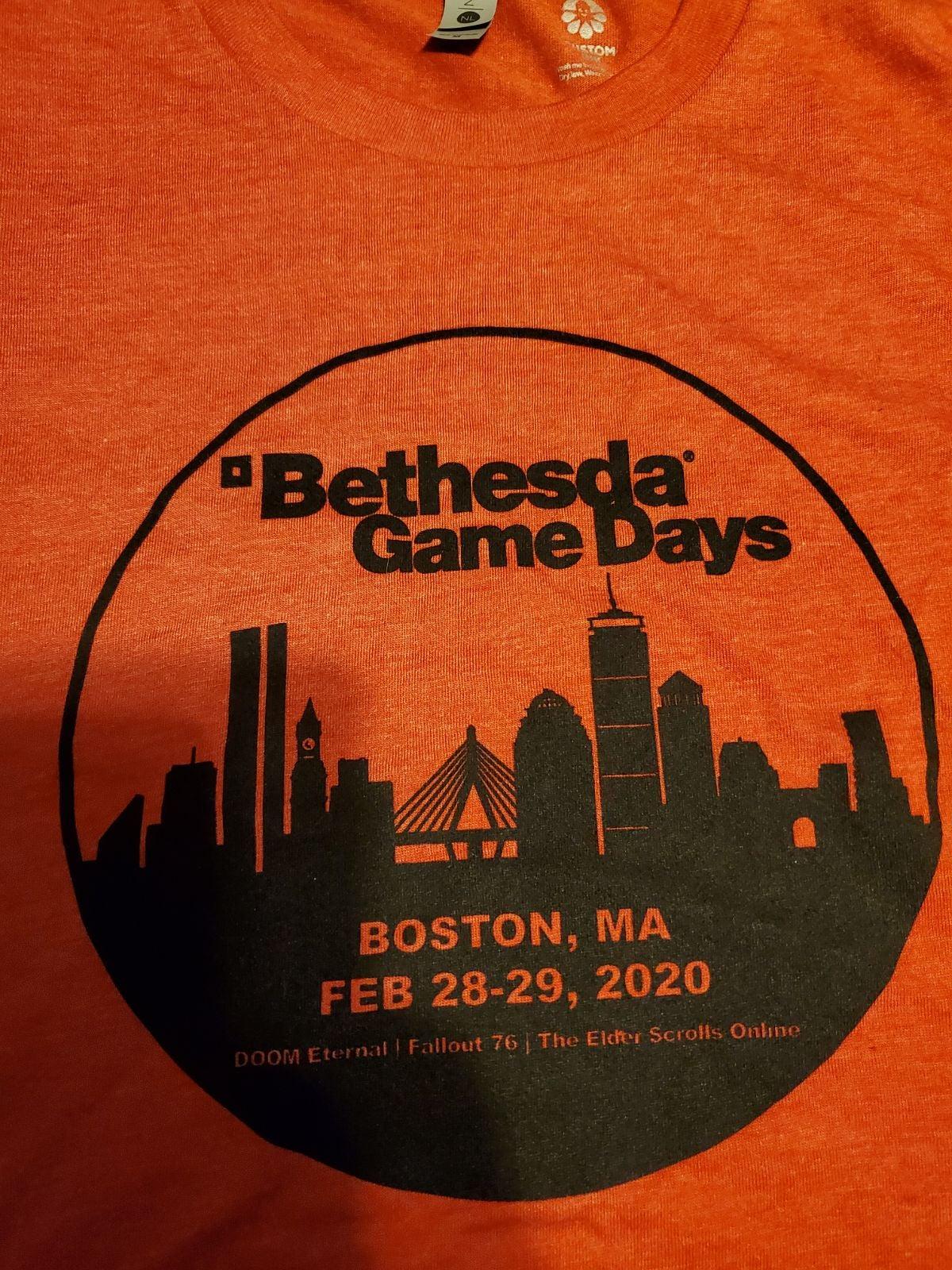 Bethesda Game Days Shirt Large Pax East