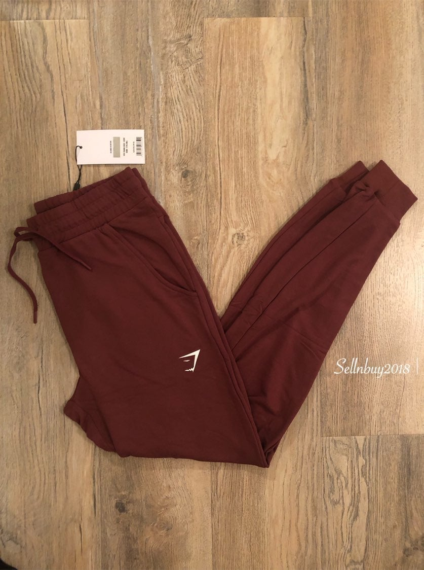 Gymshark XS Pippa Joggers Brown NWT