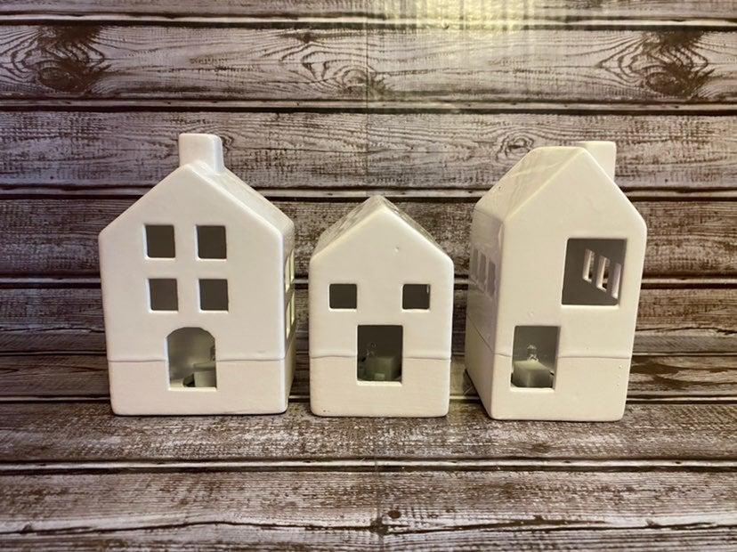 Target Ceramic Light Up Houses