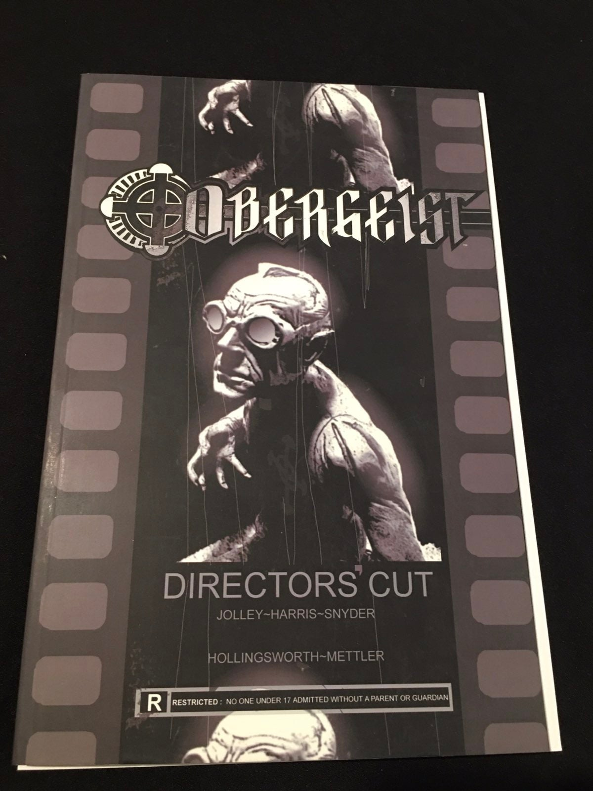 Obergeist graphic novel