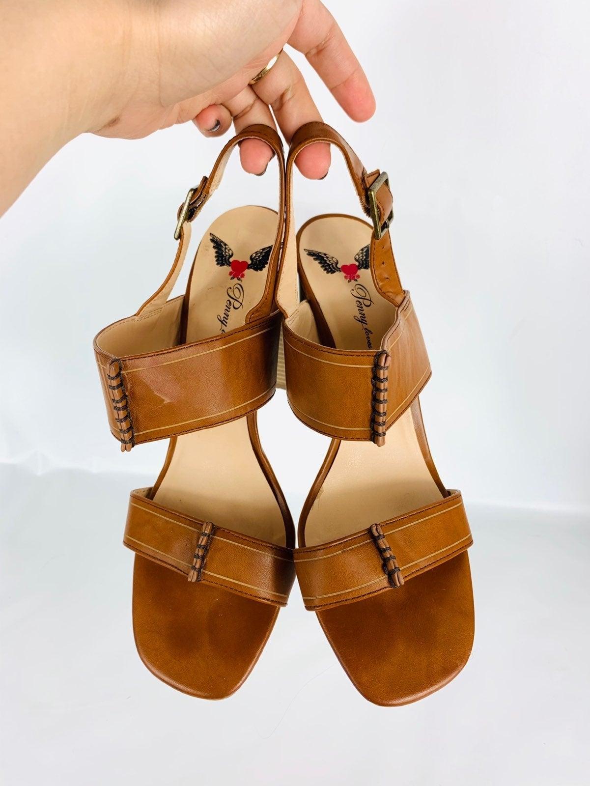 Penny LOVES Kenny block sandal
