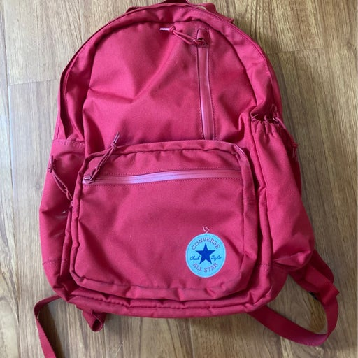 Red Converse Backpack