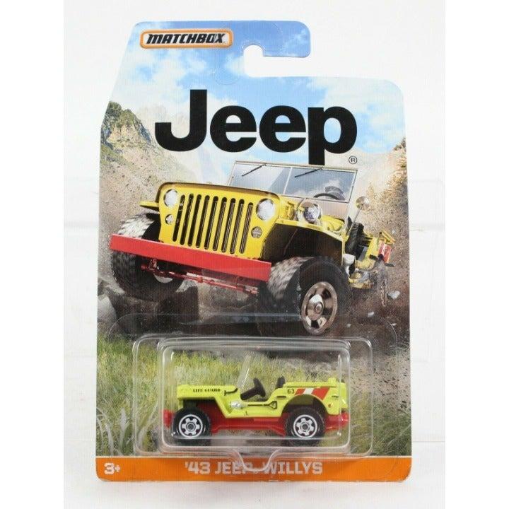 Mattel 2014 NEW Matchbox 1943 Jeep Willy