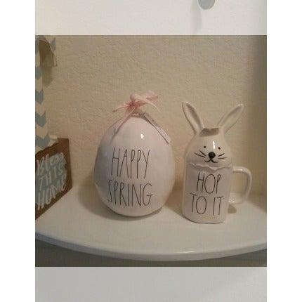 Rae Dunn Easter Egg and Bunny Mug Lot