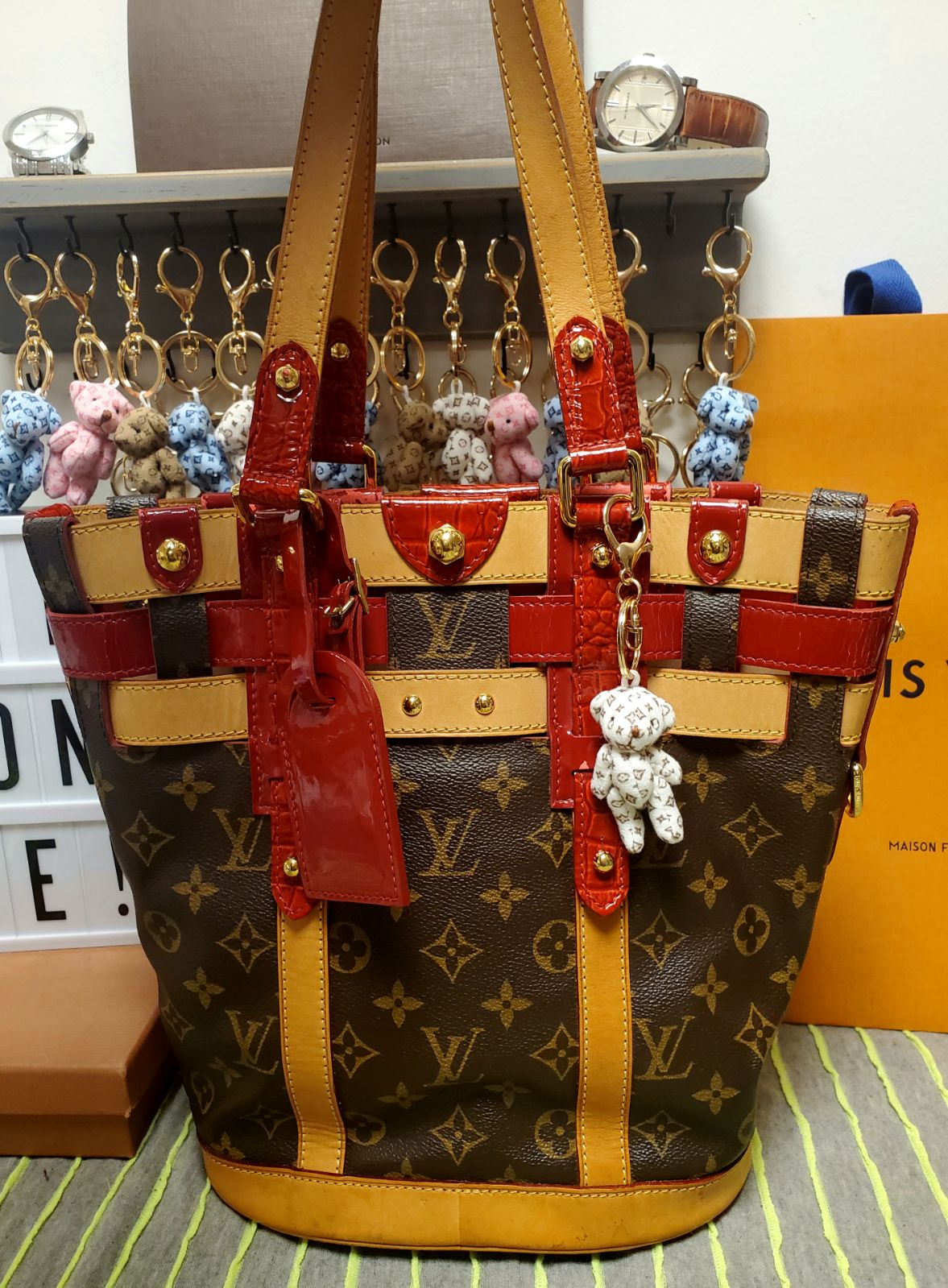 Louis Vuitton Ruby Neo Bucket Bag