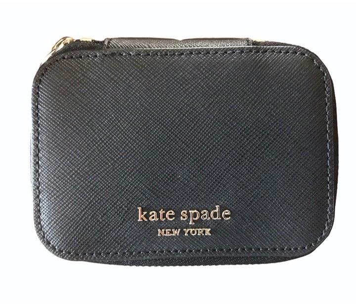 Kate Spade Black leather Jewelry Box