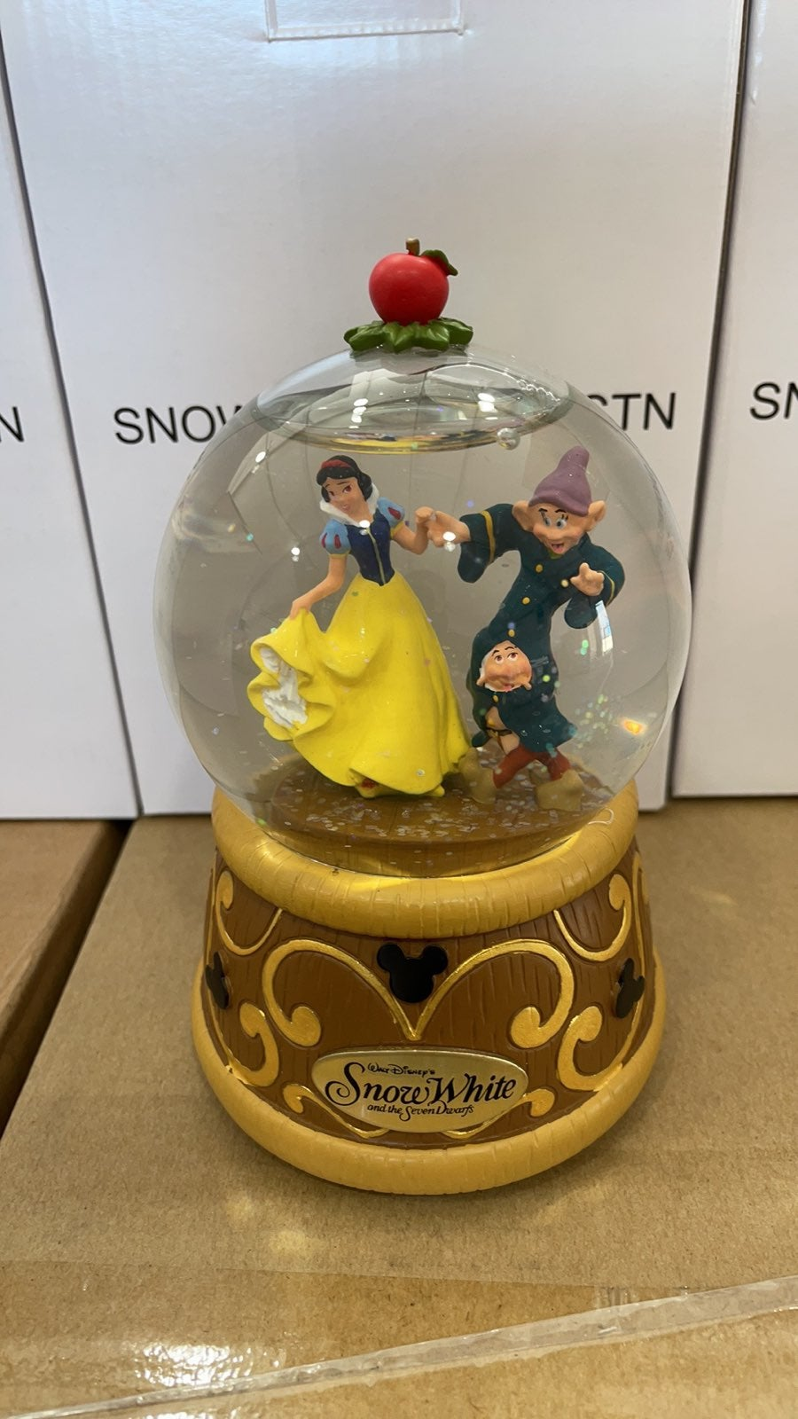 Disney Park Snow White Musical Snowglobe