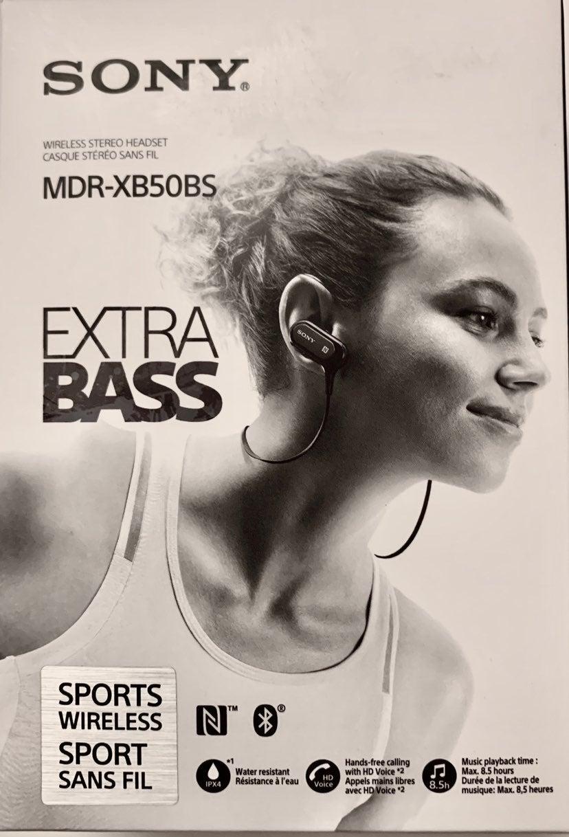 Sony Extra Bass Wireless Earrbuds