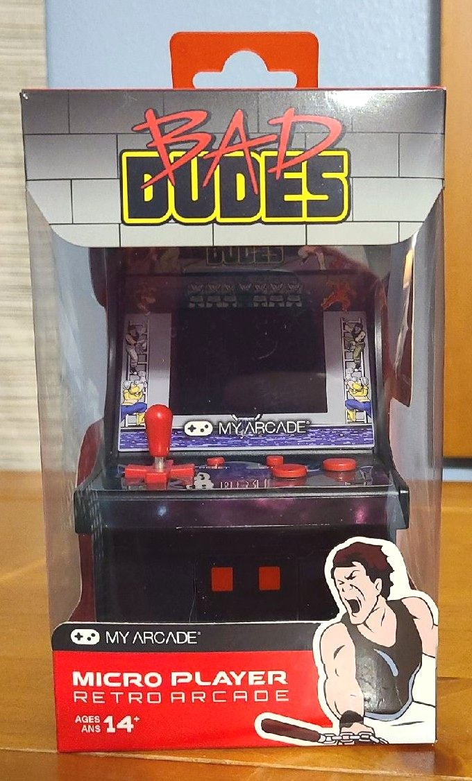 MY ARCADE Mini Bad Dudes Game