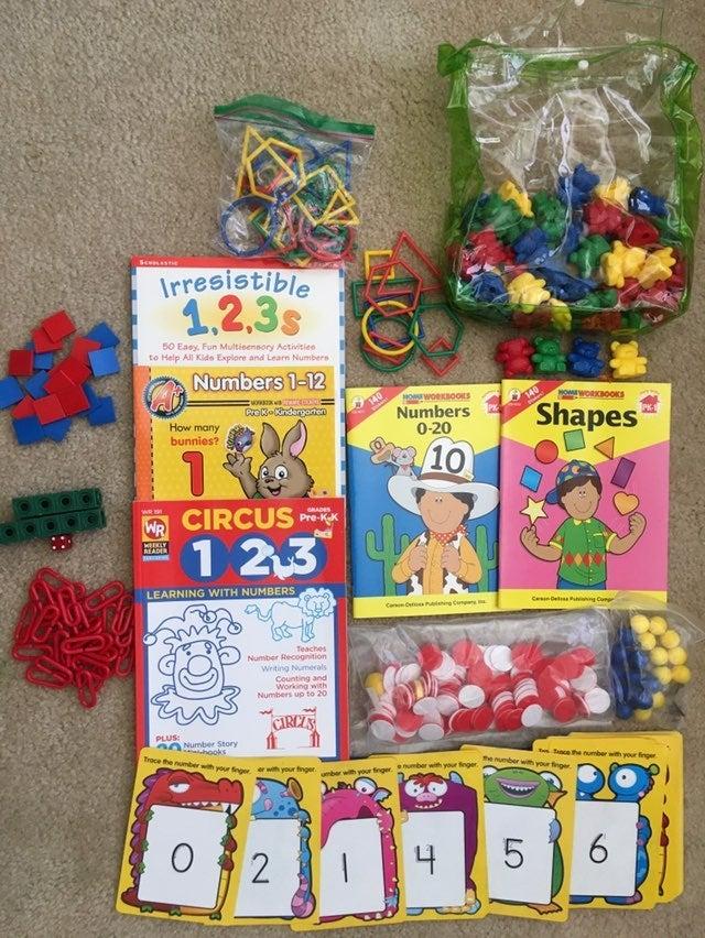 Math teaching resources and workbooks