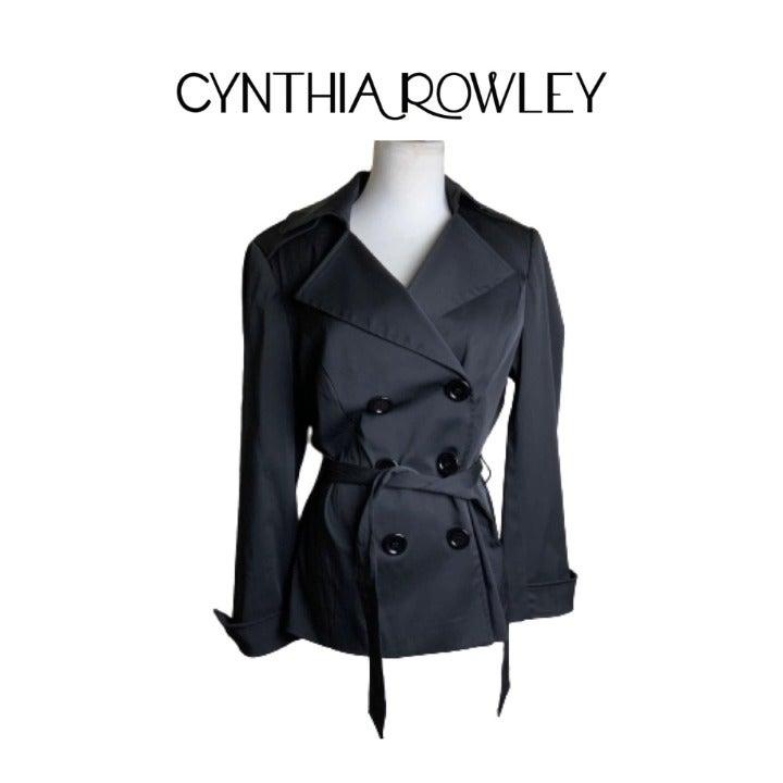 Cynthia Rowley Black Rain Jacket. Sz S