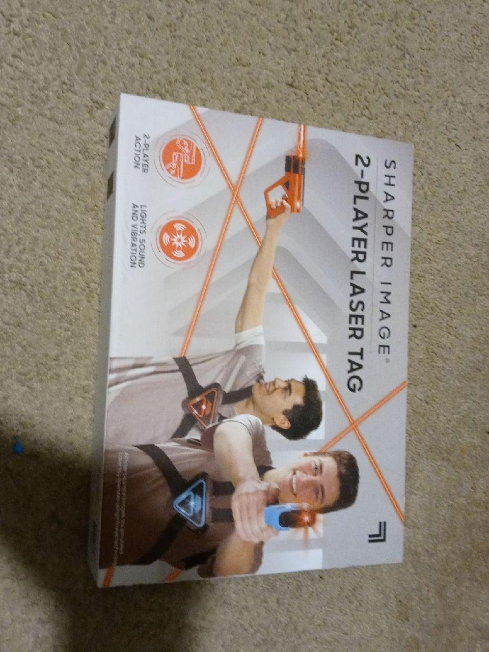 Sharper Image 2 Player Laser Tag