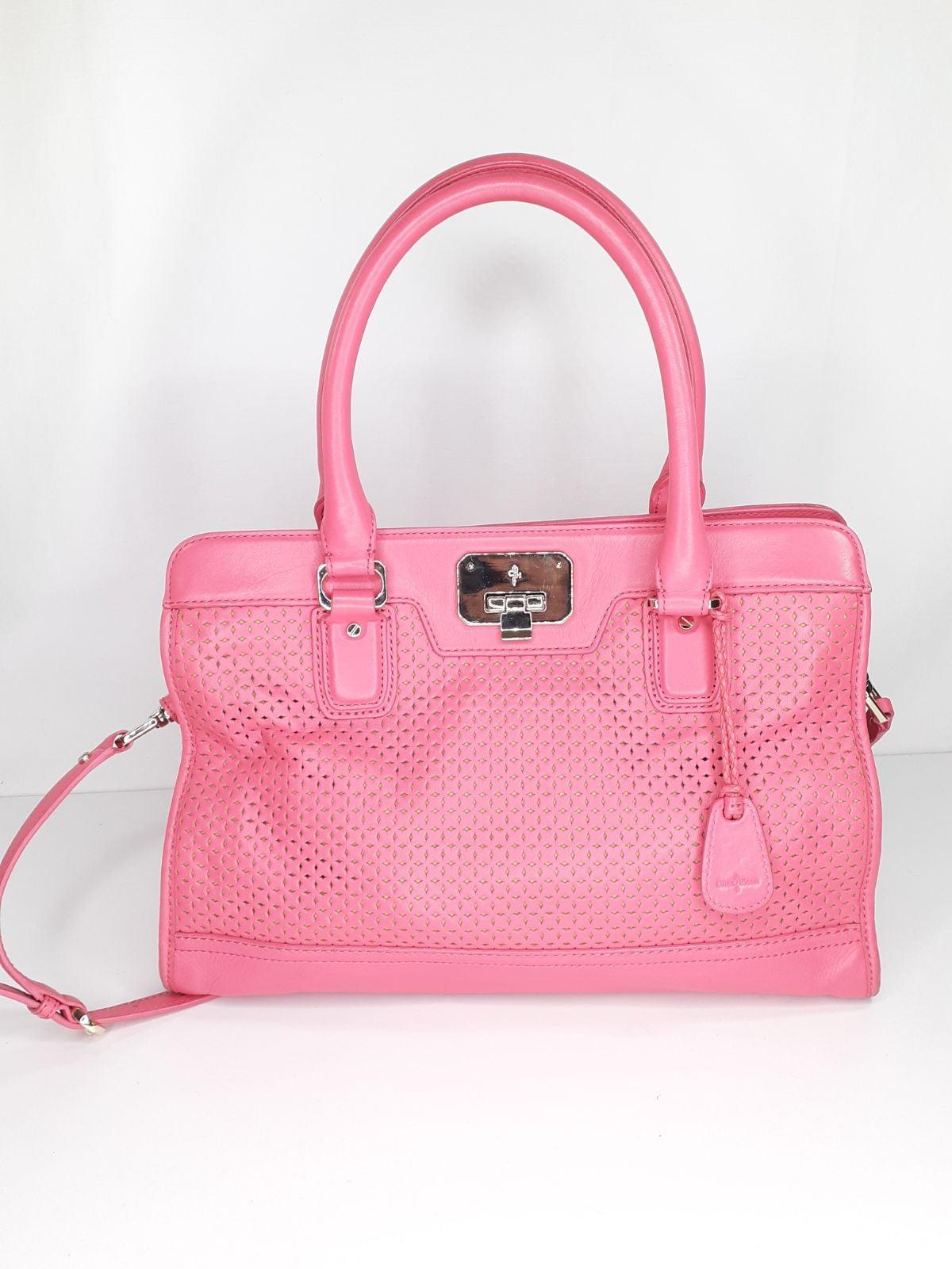 Cole Haan Purse Pink Satchel Bag Handbag