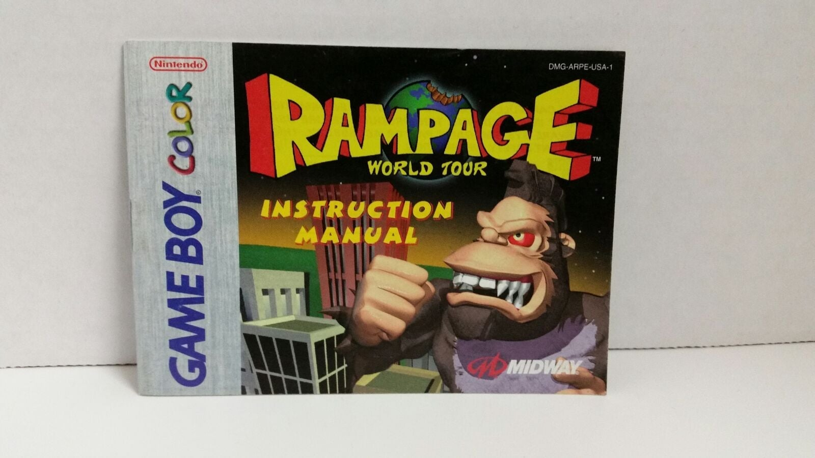 Rampage World Tour Instruction Manual