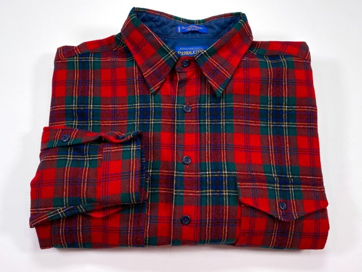 Pendleton Outdoorsman XL Tartan Wool
