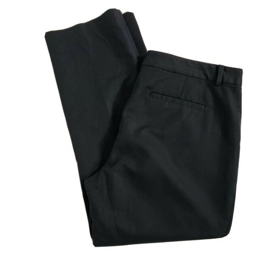 Tahari Cropped Pants Stretch Flat Front