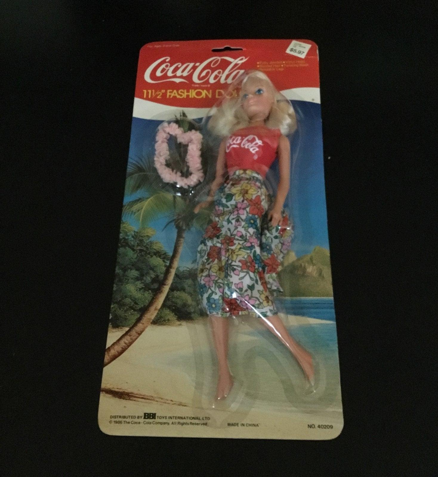 Coca Cola Barbie Doll