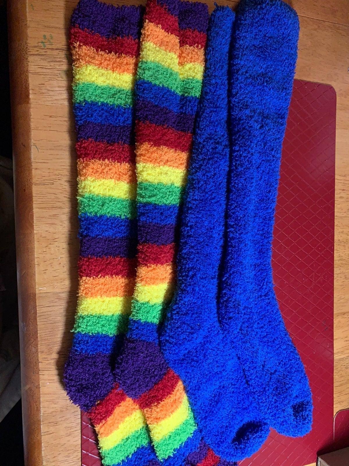Robe/Socks