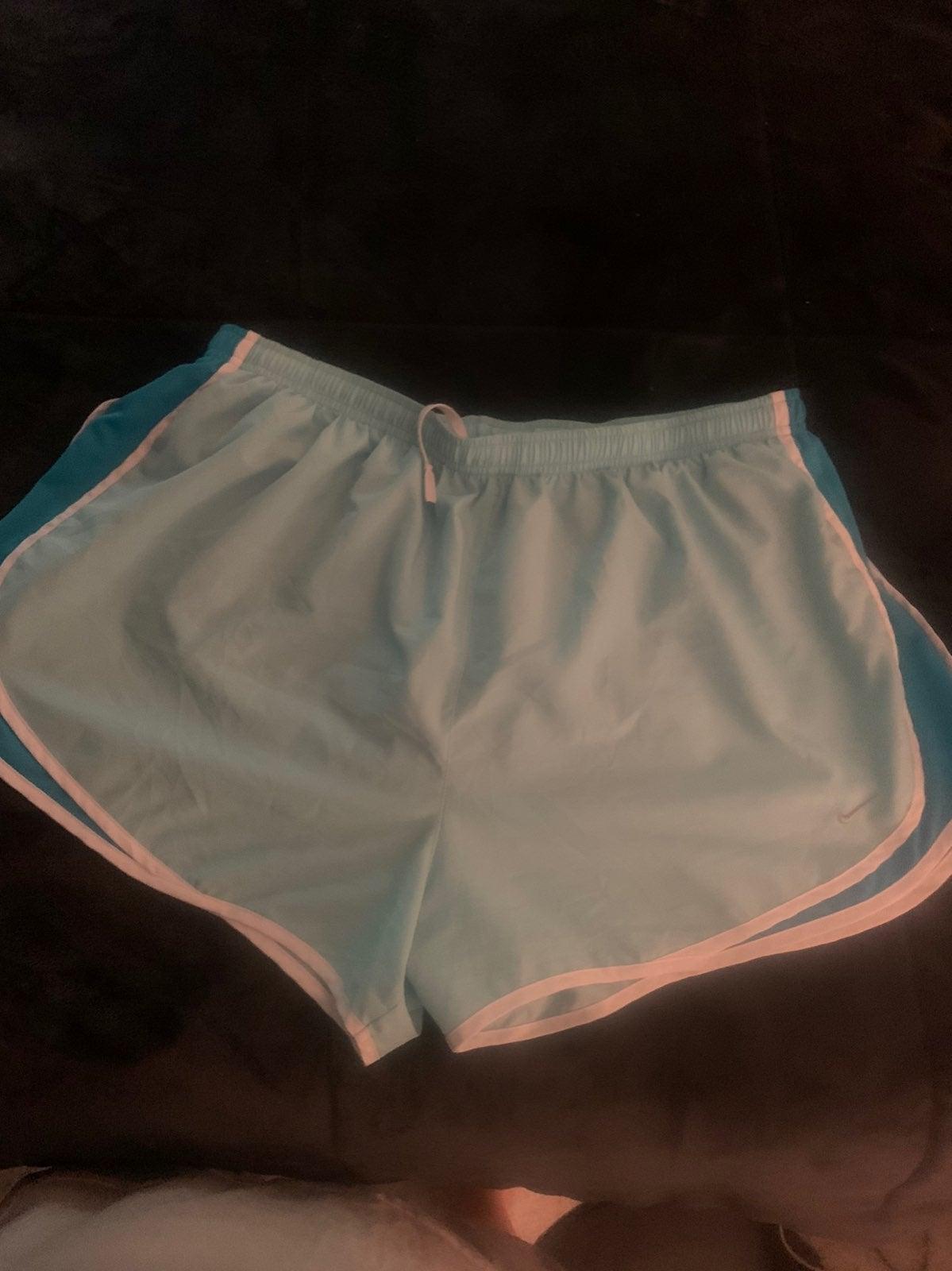 Plus size nike shorts