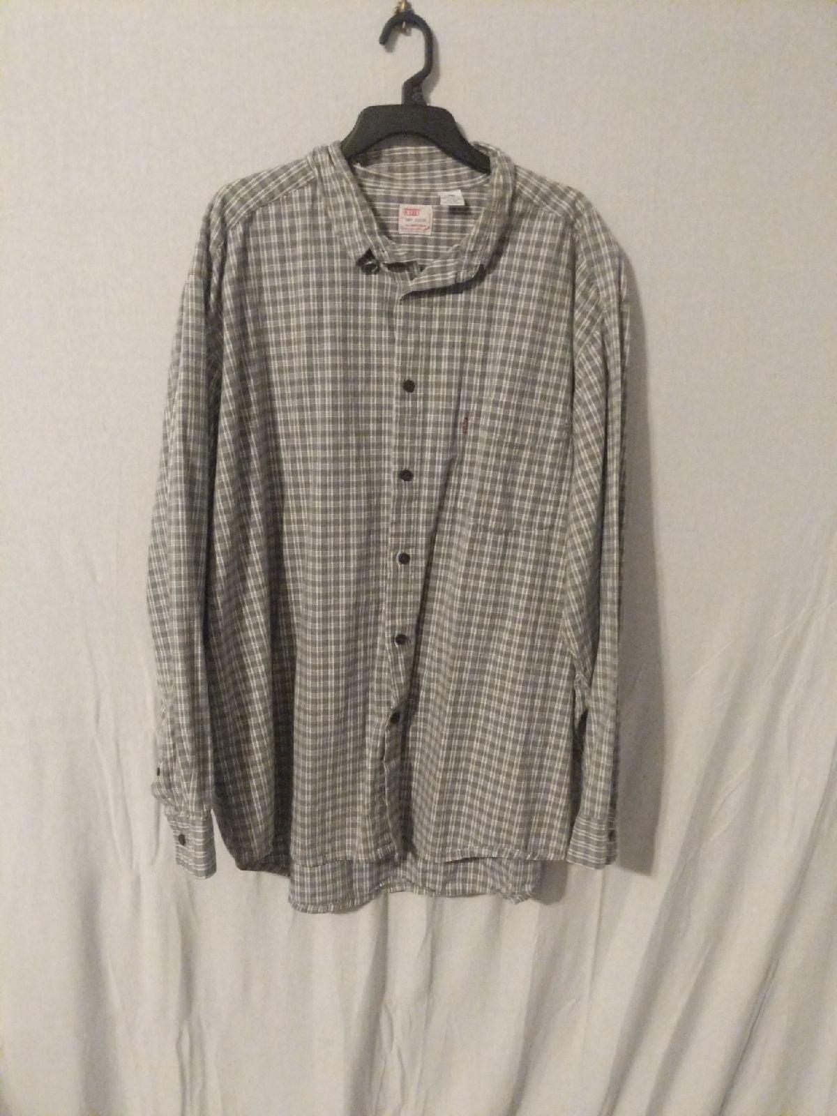 Vintage Levi's Button-Down Plaid XL